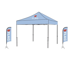 Tent Package: Tent+Beach Flag