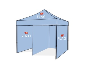 Tent Package C: Tent+Wall x4